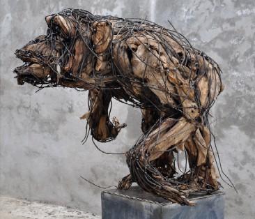 Chimpanzé 90X90X110 cm