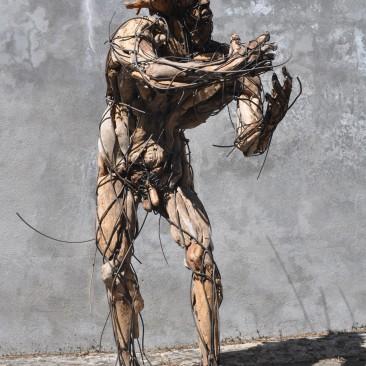 La condition humaine 160X100X70 cm