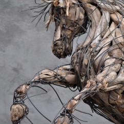 Cheval cabré 180X100X140 cm (1)