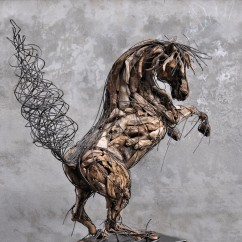 Cheval cabré 180X100X140 cm (4)