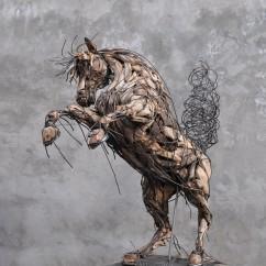Cheval cabré 180X100X140 cm (6)