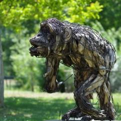 Chimpanzé 90X90X110 cm (4)