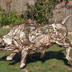 Jeune taureau 200X100X70 cm (4)
