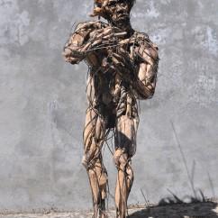 La condition humaine 160X100X70 cm (1)