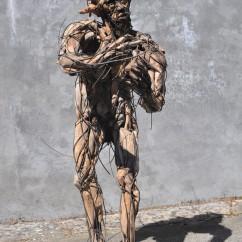 La condition humaine 160X100X70 cm (2)