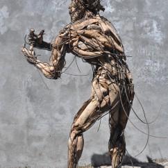 La condition humaine 160X100X70 cm (4)